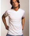 Alan red v hals t shirt