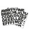 Alfabet blokletters stickers 5 cm