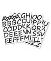 Alfabet stickers 5 cm