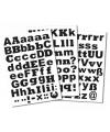 Alfabet stickers diverse formaten