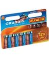 Alkaline batterijen aa grundig 12 stuks