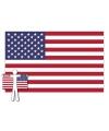 Amerika supporter cape