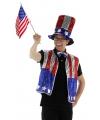 Amerika verkleedset 3 delig