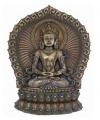 Amitabha boeddha beeld 37 cm
