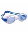 Anti chloor zwembril blauw voor volwassenen