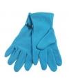Aqua fleece handschoenen voor volwassenen