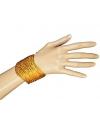 Armband met gouden pailletten
