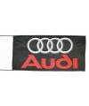 Audi vlag zwart 150 x 75 cm