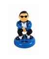 Auto dashboard gangnam danser blauw 12 cm