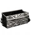 Auto kofferbak organizer zebraprint