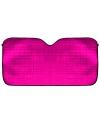 Auto zonnescherm roze