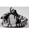 Baby slofjes zebra zwart wit