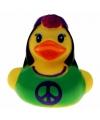 Badeendje hippie vrouw 5 cm