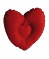 Badkussen hart 35 cm
