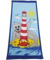 Badlaken zeehond 70 x 150 cm