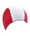 Badmuts rood met wit
