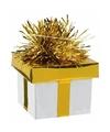 Ballon gewicht cadeau goud zilver 175 gr