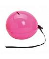 Ballon spaarpot roze