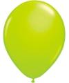 Ballonnen neon groen 50 stuks