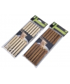 Bamboe eetstokjes licht hout 12 stuks
