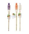 Bamboe tuinfakkel set 3 stuks 60 cm type 1