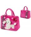 Barbie witte poedel shopping tas
