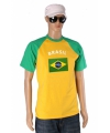 Baseball heren fanshirt brasil