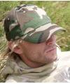 Baseballcap camouflage