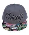 Baseballcap chicago grijs
