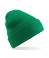 Basic winter muts groen