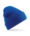 Basic winter muts kobalt blauw