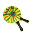 Beachball tennis spel van hout