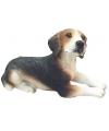 Beeldje beagle hond 13 cm
