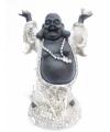 Beeldje blije boeddha 24 cm