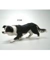 Beeldje border collie hond 17 cm