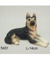 Beeldje duitse herdershond 14 cm