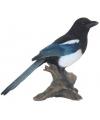 Beeldje ekster vogel 22 cm