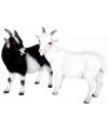 Beeldje witte geit 29 cm