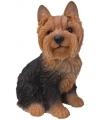 Beeldje yorkshire terrier 23 cm
