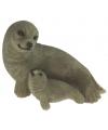 Beeldje zeehond links 11 cm