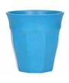 Beker bamboevezel blauw 300 ml
