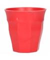 Beker bamboevezel rood 300 ml