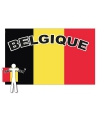 Belgie supporter cape