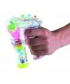 Bellenblaas pistool met licht en geluid 27 cm