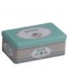 Bewaarblik bistro mint groen 18 cm