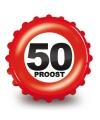 Bierdop flesopener 50 proost