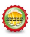 Bierdop flesopener geef me bier