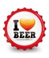Bierdop flesopener i love beer