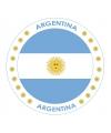 Bierviltjes argentini thema print