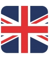 Bierviltjes groot brittannie vlag vierkant 15 st